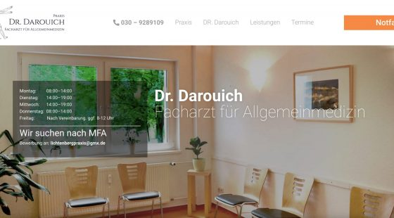Dr med darouich